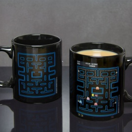 Pac Man - teplocitlivý hrnček labyrint