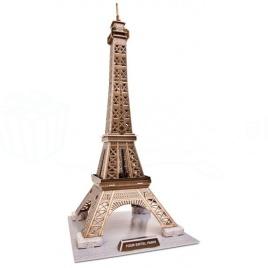 3D puzzle - Eiffelova veža (stredná)