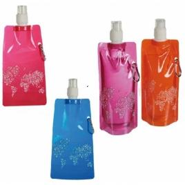 Skladacia EKO fľaša - purpurová