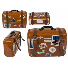 Cestovateľská sporkasa - kufor