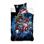 Marvel - posteľné obliečky - Avengers 160x200 - v2