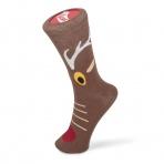 Vianočné ponožky - sobík