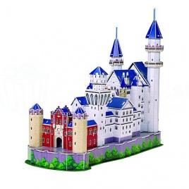3D puzzle - Hrad Neuschwanstein