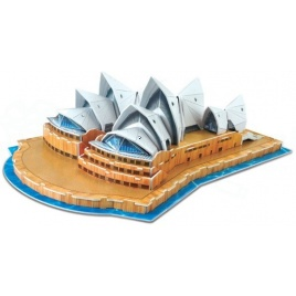 3D puzzle - Sydney Opera (Stredné)