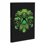 Xbox - svietiaci poznámkový blok