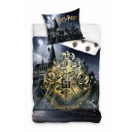 Harry Potter - posteľné obliečky Rokfort 140x200