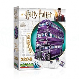 Harry Potter - 4D puzzle Rytiersky autobus