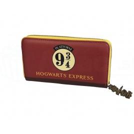 Harry Potter - peňaženka - Rokfortský expres - nástupište 9 a 3/4