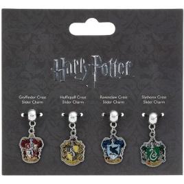 Harry Potter - set 4 ks príveskov - Rokfortské fakulty