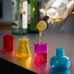 Štamperlíky v tvare chemických kadičiek