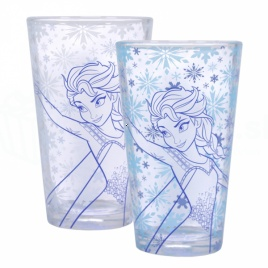 Ľadové kráľovstvo - farbumeniaci pohár Elsa