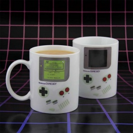 Game Boy - teplocitlivý hrnček