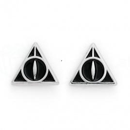 Harry Potter -  náušnice Dary smrti