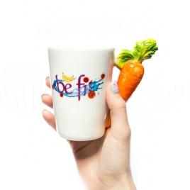 Vegetariánsky hrnček - mrkva