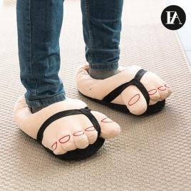 Mäkkučké sandálové papučky