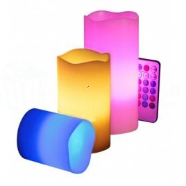 Elektrické sviečky (balenie 3ks)