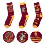 Harry Potter - Chrabromilské ponožky - set 3 párov