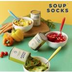 Polievkové ponožky - mrkvová