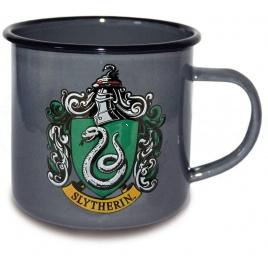 Harry Potter - smaltovaný hrnček Slizolin
