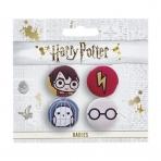 Harry Potter - sada odznakov