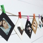 Fotorámčeky na štipcoch