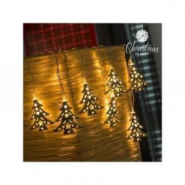 Vianočné LED osvetlenie - stromčeky