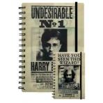 Harry Potter - 3D poznámkový blok Harry a Sirius