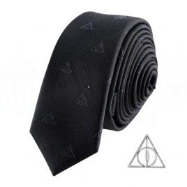 Harry Potter - kravata a manžetový gombík Dary Smrti