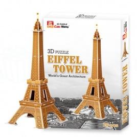 3D puzzle - Eiffelova veža (malá)
