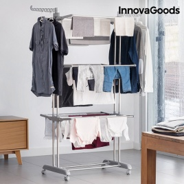 Mobilný sušiak na prádlo - veža 16 tyčí