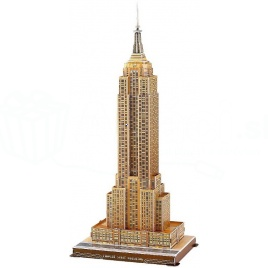 3D puzzle - Empire State Building (Stredné)