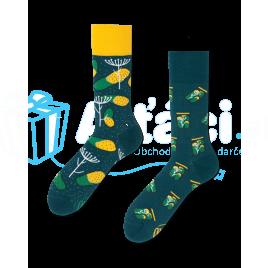 Veselé ponožky - Zavárané uhorky L