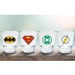 DC COMICS - sada 4 štamperlíkov