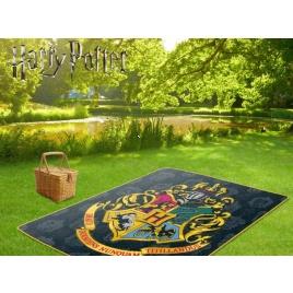 Harry Potter - pikniková deka s erbom Rokfortu