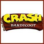 Crash Bandicoot darčeky predmety